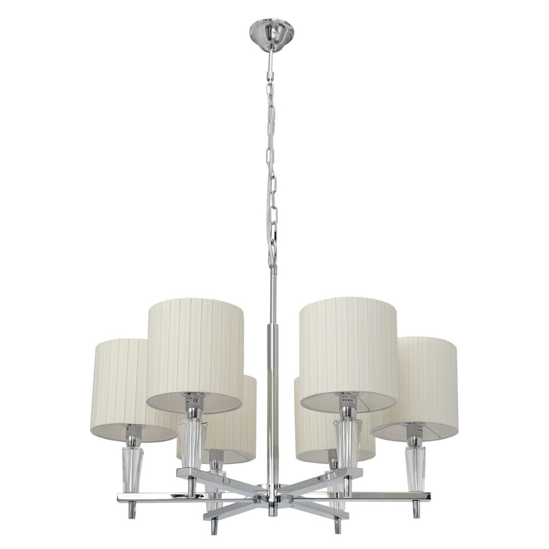 Závěsná lampa Inessa Elegance 6 Chrome - 460010706