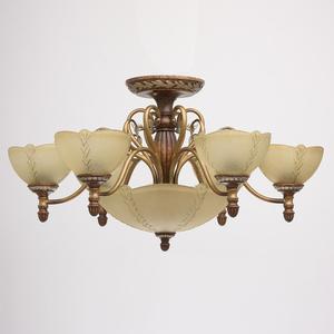 Závěsná lampa Bologna Country 9 Brown - 254012909 small 1