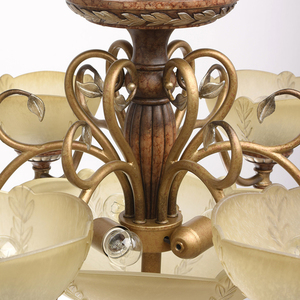 Závěsná lampa Bologna Country 9 Brown - 254012909 small 11