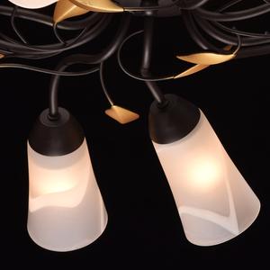 Závěsná lampa Verona Flora 10 Hnědá - 242015410 small 6