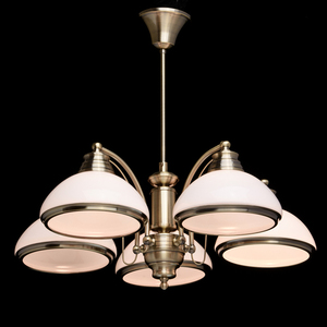 Závěsná lampa Felice Classic 5 Mosaz - 347010605 small 2