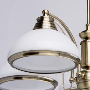 Závěsná lampa Felice Classic 5 Mosaz - 347010605 small 3