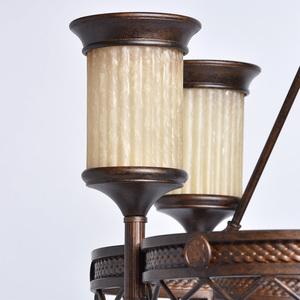 Závěsná lampa Magdalena Země 6 Hnědá - 382010206 small 3