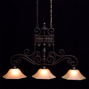 Závěsná lampa Magdalena Země 3 Hnědá - 382011503 small 1