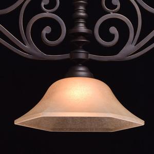 Závěsná lampa Magdalena Země 3 Hnědá - 382011503 small 4