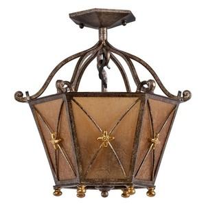 Závěsná lampa Magdalena Země 3 Hnědá - 382012503 small 0