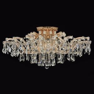 Závěsná lampa Luisa Crystal 10 Gold - 383010210 small 4