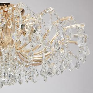 Závěsná lampa Luisa Crystal 10 Gold - 383010210 small 5