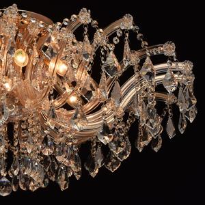 Závěsná lampa Luisa Crystal 10 Gold - 383010210 small 6
