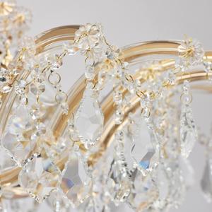 Závěsná lampa Luisa Crystal 10 Gold - 383010210 small 11