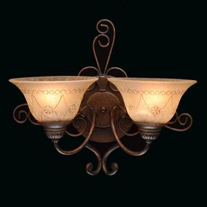 Nástěnná lampa Magdalena Země 2 Hnědá - 382022902 small 1