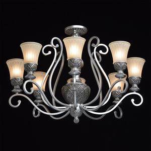 Závěsná lampa Bologna Country 8 Silver - 254010908 small 2