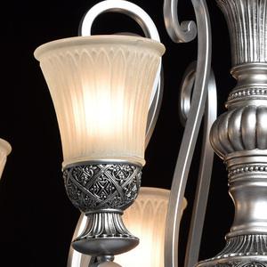 Závěsná lampa Bologna Country 8 Silver - 254010908 small 4