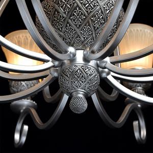 Závěsná lampa Bologna Country 8 Silver - 254010908 small 9