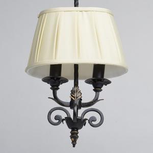 Závěsná lampa Victoria Country 2 Black - 401010402 small 1