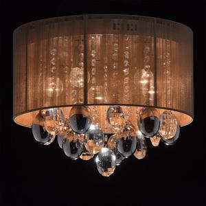 Jacqueline Elegance 5 Chrome závěsná lampa - 465011305 small 2