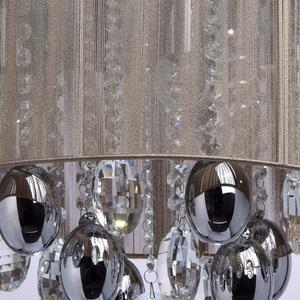 Jacqueline Elegance 5 Chrome závěsná lampa - 465011305 small 3