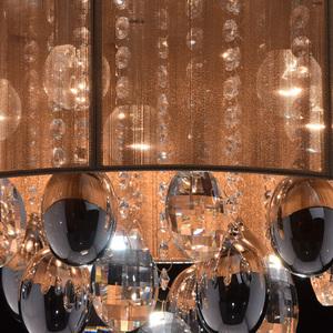 Jacqueline Elegance 5 Chrome závěsná lampa - 465011305 small 4