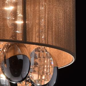 Jacqueline Elegance 5 Chrome závěsná lampa - 465011305 small 6
