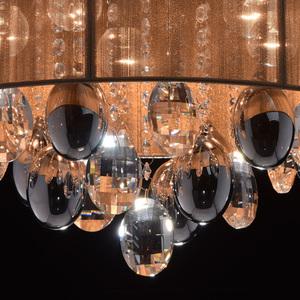 Jacqueline Elegance 5 Chrome závěsná lampa - 465011305 small 8