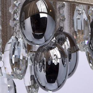 Jacqueline Elegance 5 Chrome závěsná lampa - 465011305 small 12