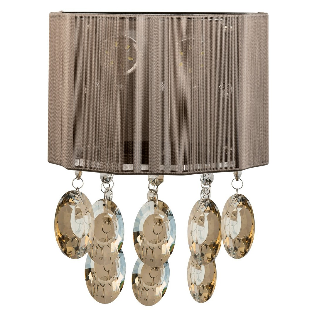 Nástěnná lampa Jacqueline Elegance 3 Chrome - 465022805