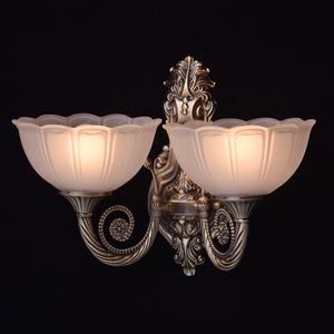 Nástěnná lampa Athena Classic 2 Mosaz - 357020402 small 2