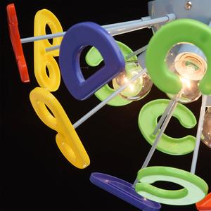 Závěsná lampa Smile Kinder 5 Blue - 365013705 small 6
