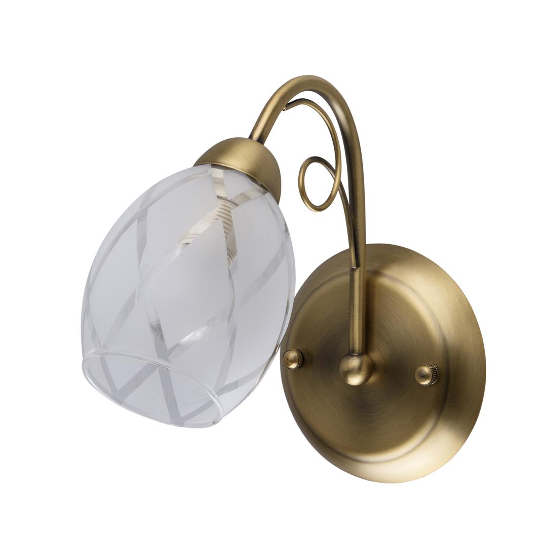Nástěnná lampa Savona Megapolis 1 Gold - 358021301