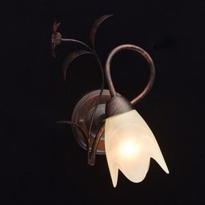 Nástěnná lampa Aida Země 1 Hnědá - 323023801 small 1