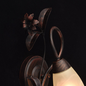 Nástěnná lampa Aida Země 1 Hnědá - 323023801 small 3