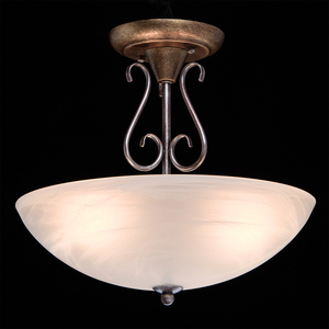 Závěsná lampa Aida Země 3 Hnědá - 323012603 small 2