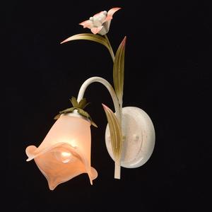 Nástěnná lampa Flora 1 Béžová - 319022001 small 1