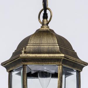 Venkovní závěsná lampa Fabur Street 1 Black - 804010401 small 5