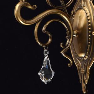 Nástěnná lampa Amanda Classic 1 Mosaz - 481020401 small 4