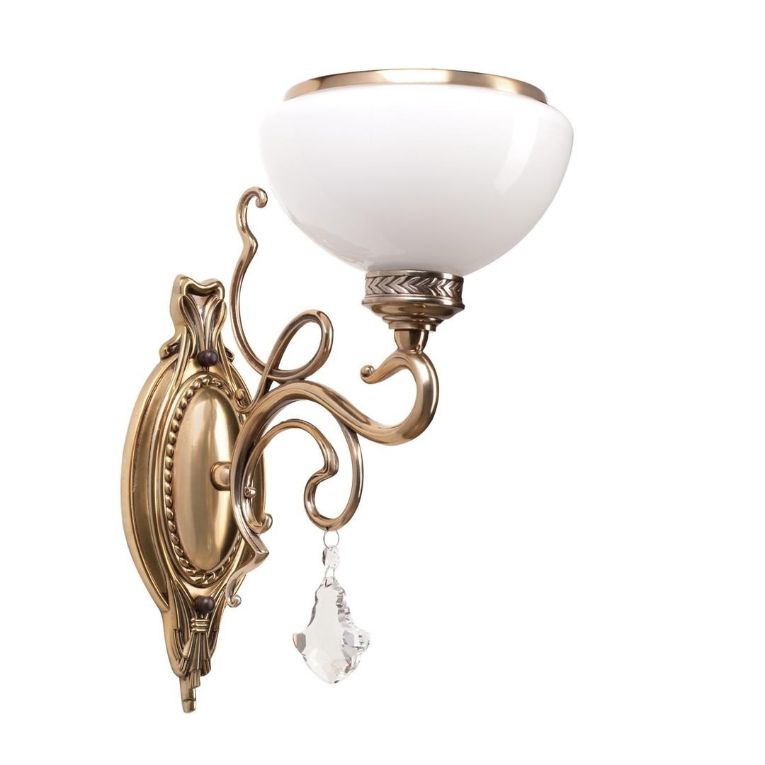 Nástěnná lampa Amanda Classic 1 Mosaz - 481020401