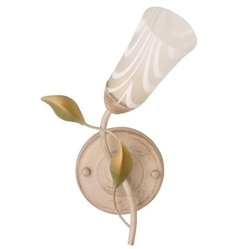 Nástěnná lampa Verona Flora 1 Béžová - 242025701