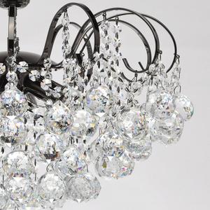Pearl Crystal 6 závěsná lampa šedá - 232016306 small 3