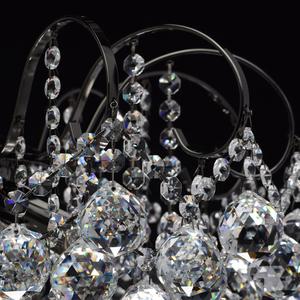 Pearl Crystal 6 závěsná lampa šedá - 232016306 small 6