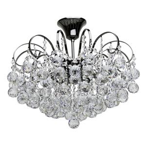 Pearl Crystal 6 závěsná lampa šedá - 232016306 small 0