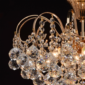Závěsná lampa Pearl Crystal 6 Gold - 232016406 small 5