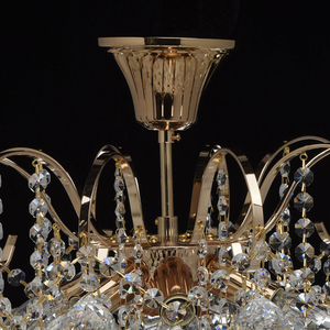 Závěsná lampa Pearl Crystal 6 Gold - 232016406 small 10
