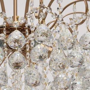 Glamour obývací pokojová lampa Pearl Crystal 6 Brass - 232016506 small 4