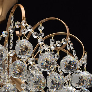 Glamour obývací pokojová lampa Pearl Crystal 6 Brass - 232016506 small 6