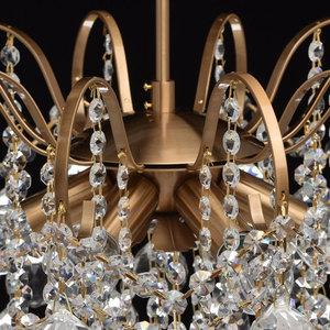 Glamour obývací pokojová lampa Pearl Crystal 6 Brass - 232016506 small 8
