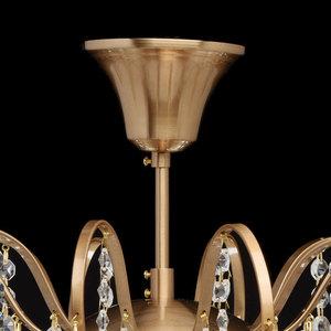 Glamour obývací pokojová lampa Pearl Crystal 6 Brass - 232016506 small 11