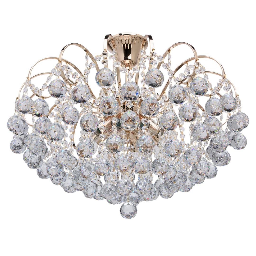 Závěsná lampa Pearl Crystal 8 Gold - 232016708