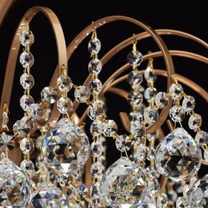 Pearl Crystal 8 závěsná lampa Mosaz - 232016808 small 8