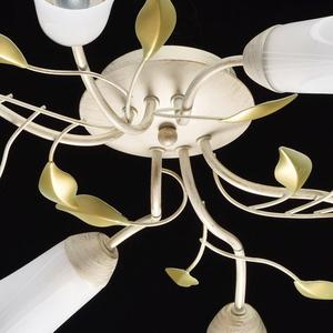 Závěsná lampa Verona Flora 6 Béžová - 242015306 small 10