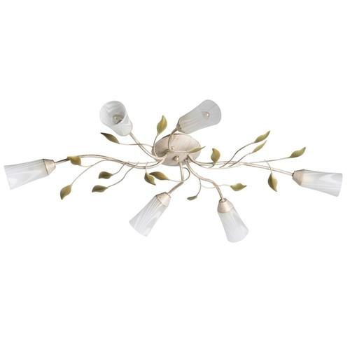 Závěsná lampa Verona Flora 6 Béžová - 242015306